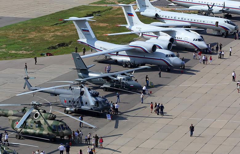 aviones y helicopteros rusos